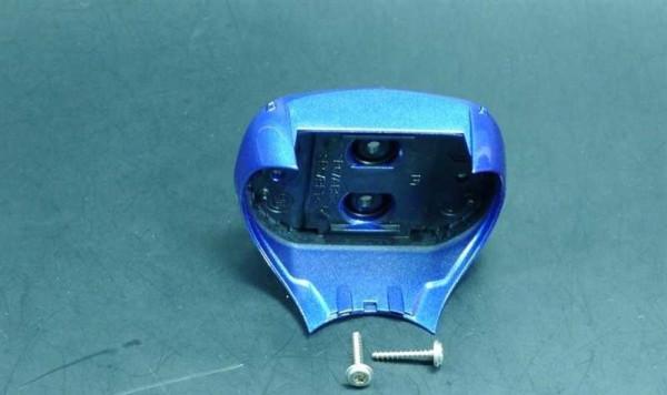 Braun Gehäuseoberteil Rasierer Serie 3 5773 metallic-blau