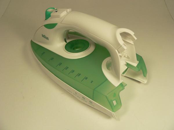 Gehäuse kpl., weiß/grün