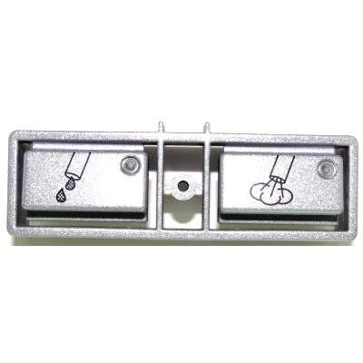Jura Tastenrechner Dampf metall 611