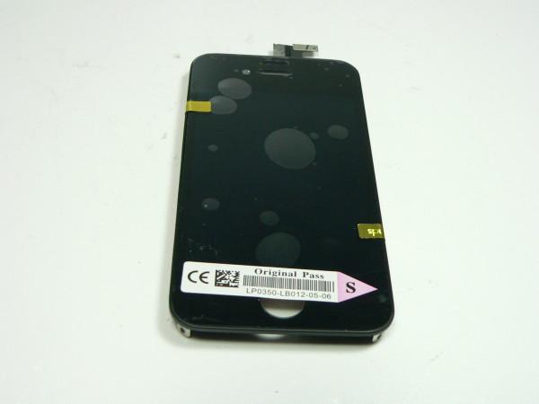 IPhone 4S Display schwarz