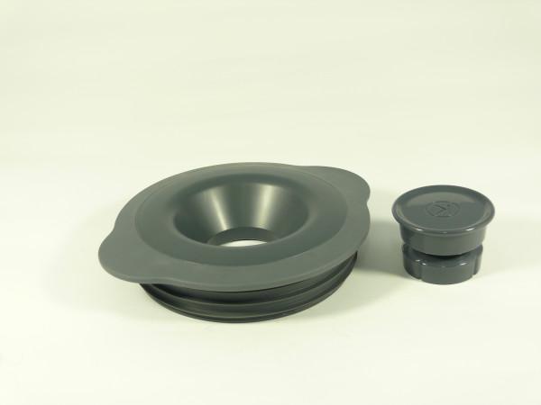 KW715607 Deckel/Stopfer/Dichtung grau